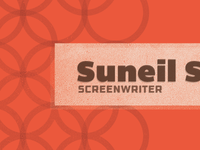 Screenwriter Business Card
