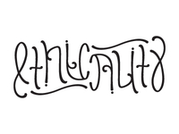 Another Ambigram