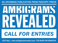 Call For Entries: Ambigrams Revealed