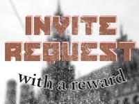Invite Request - With A Reward