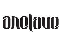 One Love Ambigram