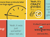 Old Folks - Kinetic Typography Stills