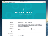 Developer Site for Kippt API
