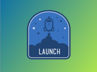 Launch Badge 2x