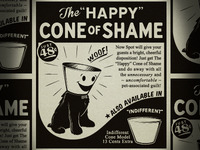 The 'Happy' Cone Of Shame Ad