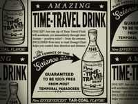 Time Travel Drink Ad