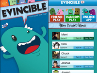 Evincible iOS app