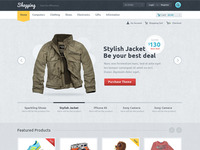 eCommerce Theme design