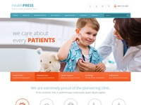 Healthpress Responsive Wordpress