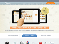 Dinetab Website Design