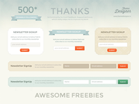 Freebies - Awesome Newsletter Signup