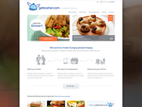 Getkosher.com website design