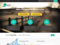 CottagePages.com website design
