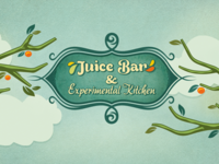 Juice Bar & Experimental Kitchen #2 (Spring Theme)