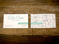 Dolce Press Business Card