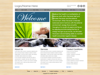 Acupuncture Website Template 2