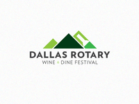 Dallas Rotary Wine And Dine Logo 2