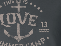 This is Love - Concept design for Camp Shirt