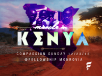 Kenya - Compassion Sunday Service @ Fellowship Monrovia