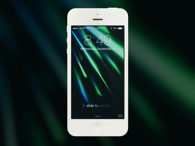 Download Perfect Hue iOS7 Wallpaper