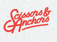 Scissors & Anchors custom script