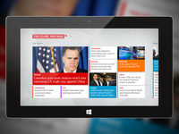 The Globe & Mail's Windows 8 News App