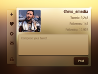 Twitter interface!