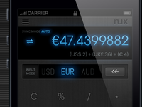 Multi-Currency Calculator/Converter for iPhone
