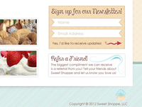 Sweet Shoppe Newsletter