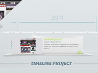 "Focus on ""Timeline Project"""