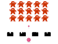 Dribbble Invaders