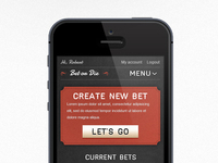 Bet or die app