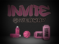Invite Giveaway by @marcintosch