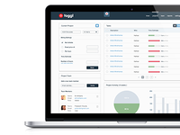 toggl project dashboard