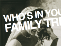 Who's In your Family Tree 1 of 12