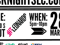 Hack Night SLC Flyer #1