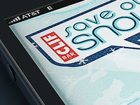 Save Our Snow iPhone App