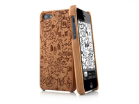 Laser Cut Bamboo iPhone Case