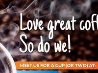 Love great coffee?