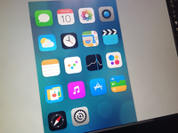 iOS7 Redesign in progress
