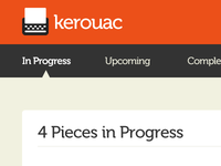 Kerouac Dashboard