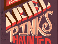 Ariel Pink's Haunted Graffiti Gig Poster