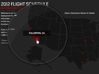 Flight Map RollOver