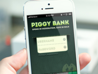 Piggy Bank iOS App