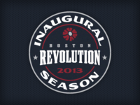 Revolution - Inaugural Season Patch