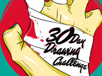 30 Day Drawing Challenge / Yana