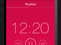 Routine for iOS 7