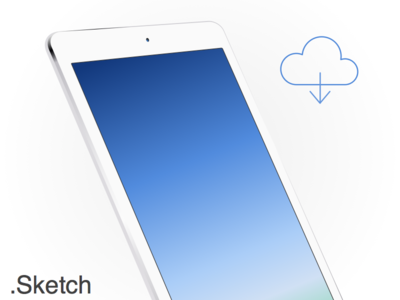 Download iPad Air White Sketch app