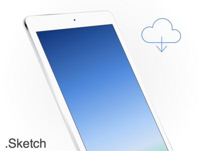 Download iPad Air White Sketch app