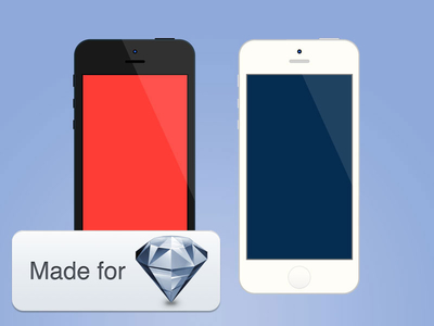 Download Minimalist iPhone for Sketch